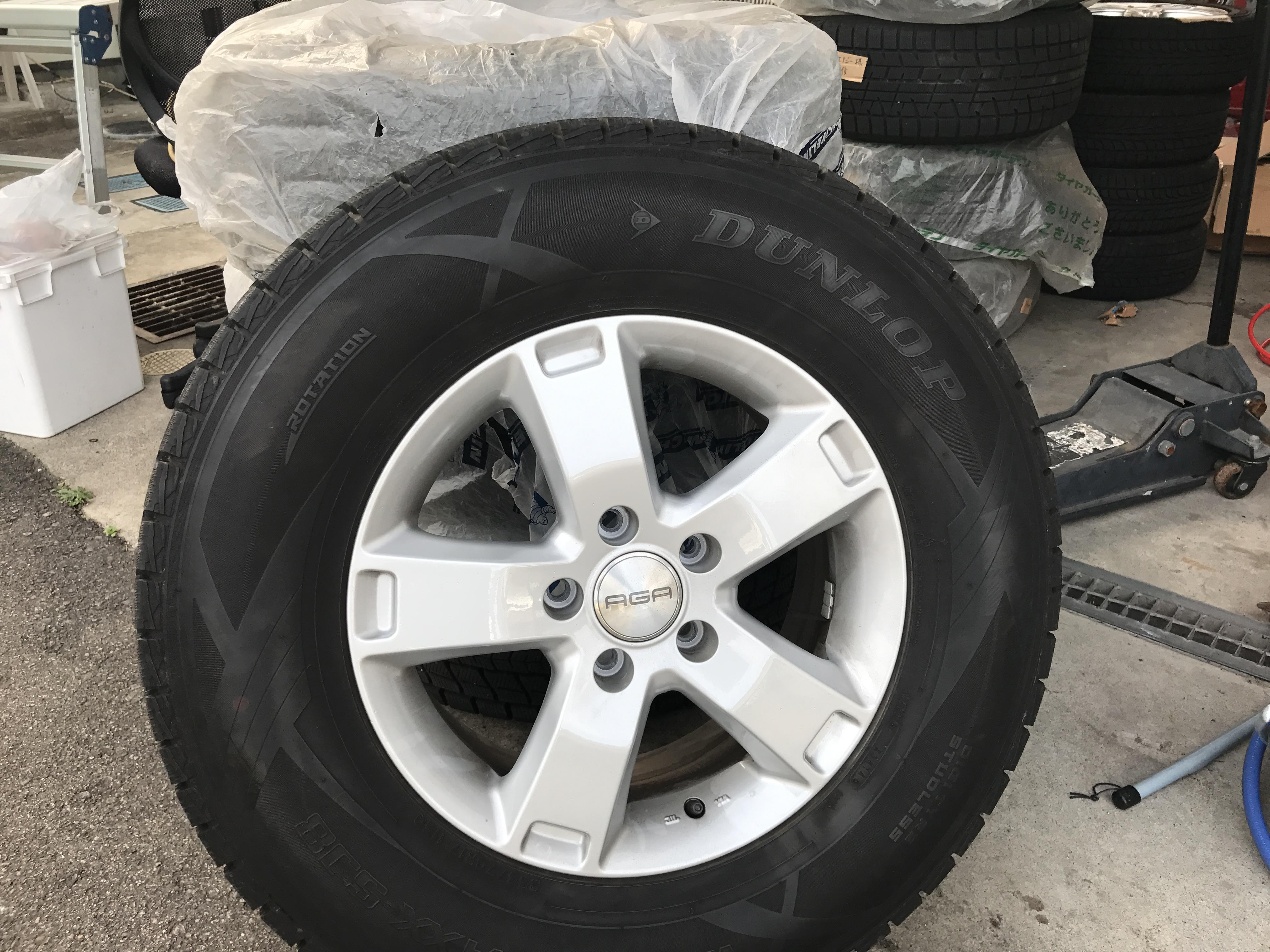 買取り タイヤ アルミ