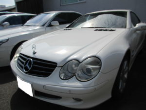 外車 メルセデスベンツ SL500